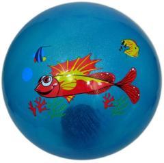 Troya Labda gumi 22 cm tengeri állatos, csillámos