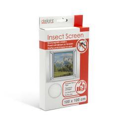Troya szúnyogháló ablakra 100x100cm fehér (11600wh)