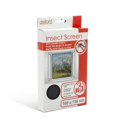 Troya szúnyogháló ablakra 100x130cm fekete (11601bk)