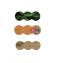 Troya virágcserép alátét/tálca PVC többféle színben és mintában(04094)